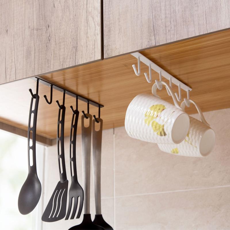 Домой домой железо шкаф хранение стойка многофункциональный ряд крюков гардероб разбираться полка кухня бесшовный избежать гвоздь подключить