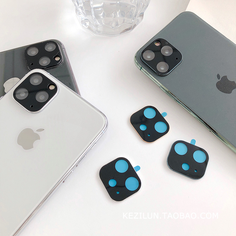 Apple Lens Film iPhone 11/11Pro/Max Metal Protection Film Anti-Scratch iPhone Men and Women's New Tide