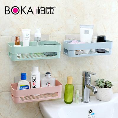 【柏康】浴室卫生间厕所免打孔置物架壁挂