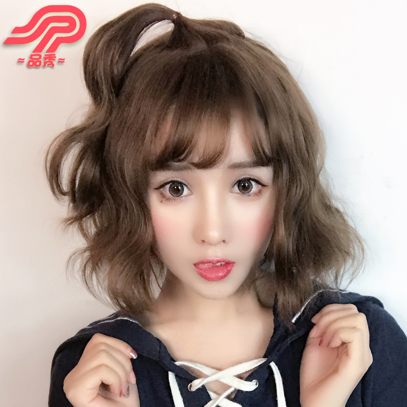 Usd 31 89 Product Show Wig Female Short Hair Fluffy Face