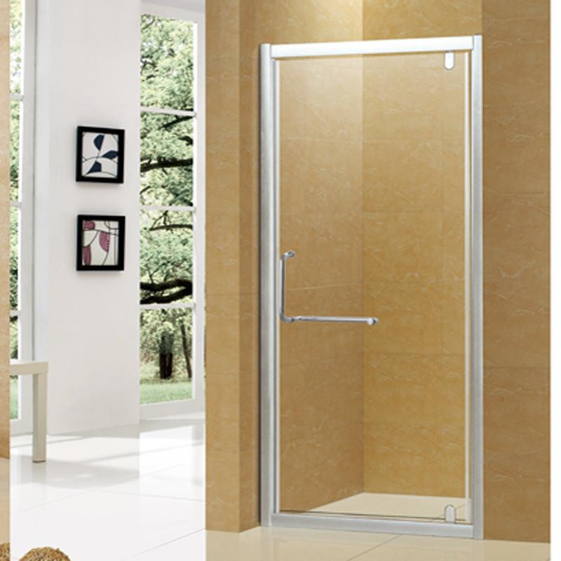 Household Shower Room Toilet Partition Bathroom Glass Door Shower Screen  Bath Room Glass Simple Flat Door