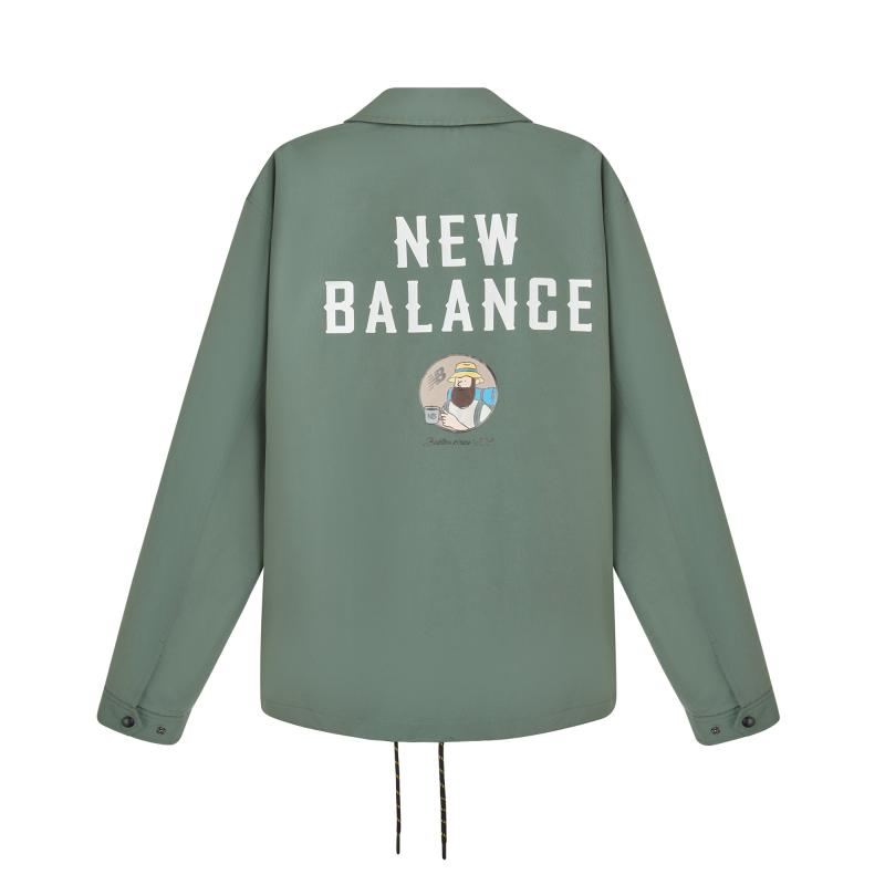【JHI联名】NewBalance夹克外套男polo领户外运动休闲NQA89011