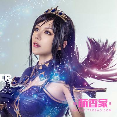taobao agent Mengxiang home LOL hero wig battlefield princess goddess Sivir Yae Xue cosplay alliance fake hair