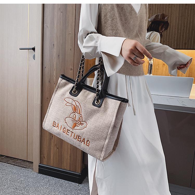 ☆☆☆秋冬新款包包流行百搭大包包大容量簡約時尚手提包洋氣單肩包女包丨單肩包丨斜挎包丨潮牌-DDM