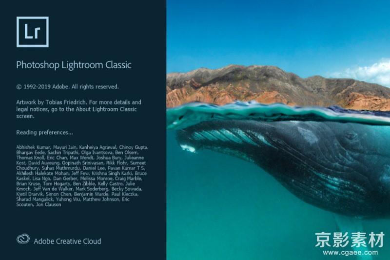 Adobe Lightroom Classic 2020 v9.1.0.10 Win/Mac 中文/英文版-图像处理软件