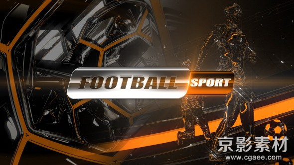 AE模板-足球赛完整电视包装片头 Football Opener, Logo & On-Air Complete Package
