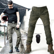 Motorcycle Riding jeans Male and female locomotive racing Harley motorcycle riding Pants