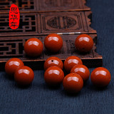 Sichuan material natural southern red agate loose beads beaded round beads persimmon red meat full color DIY matching beads
