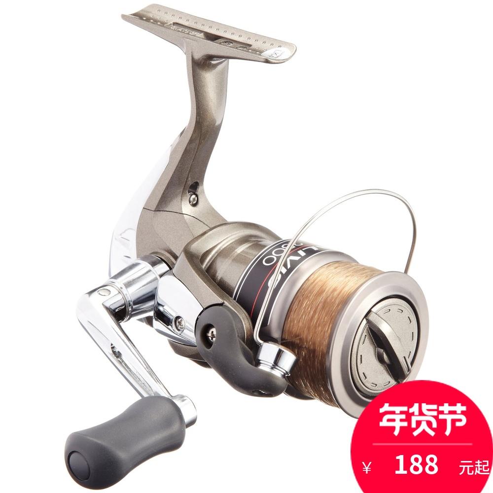 正品Shimano禧玛诺ALIVIO 2000-8000型 路亚轮 海钓纺车轮 鱼线轮