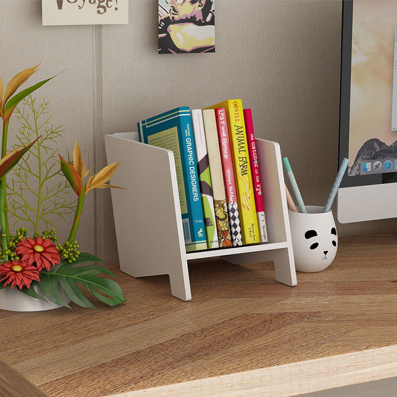 Small Bookshelf On The Table (style 1)