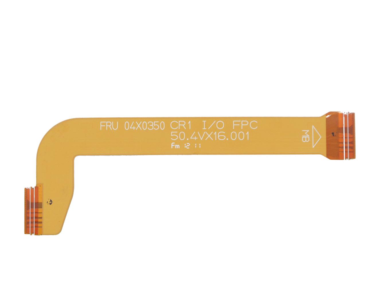 新到货105pcs FRU 04X0350 CR1 I/O FPC 50.4VX16.001 排线 连接线