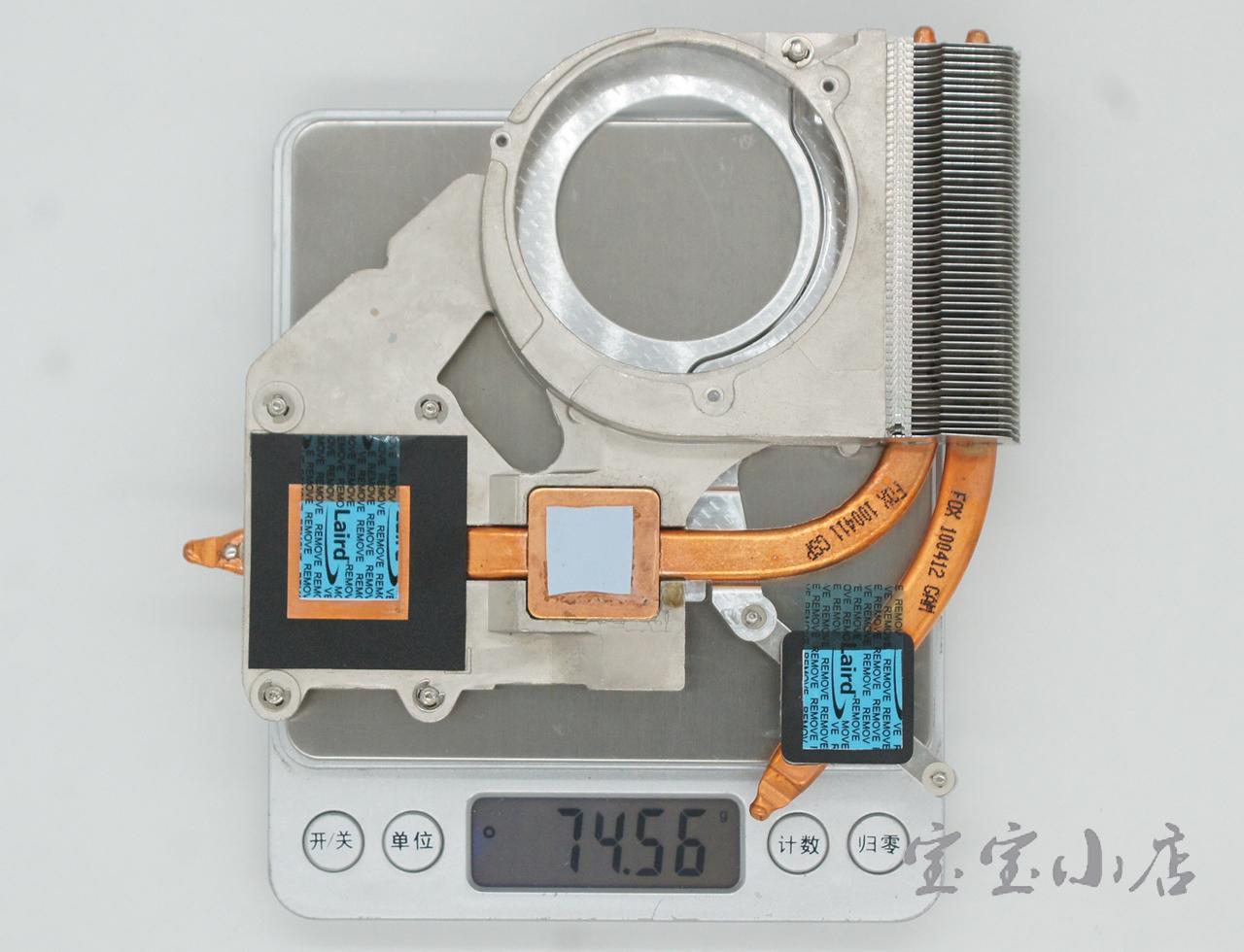 102pcs 惠普HP ProBook 4515S 4415 4416S CPU Cooling Module Heatsink 6043B0063901 535805-001 散热器 导热管 铜管