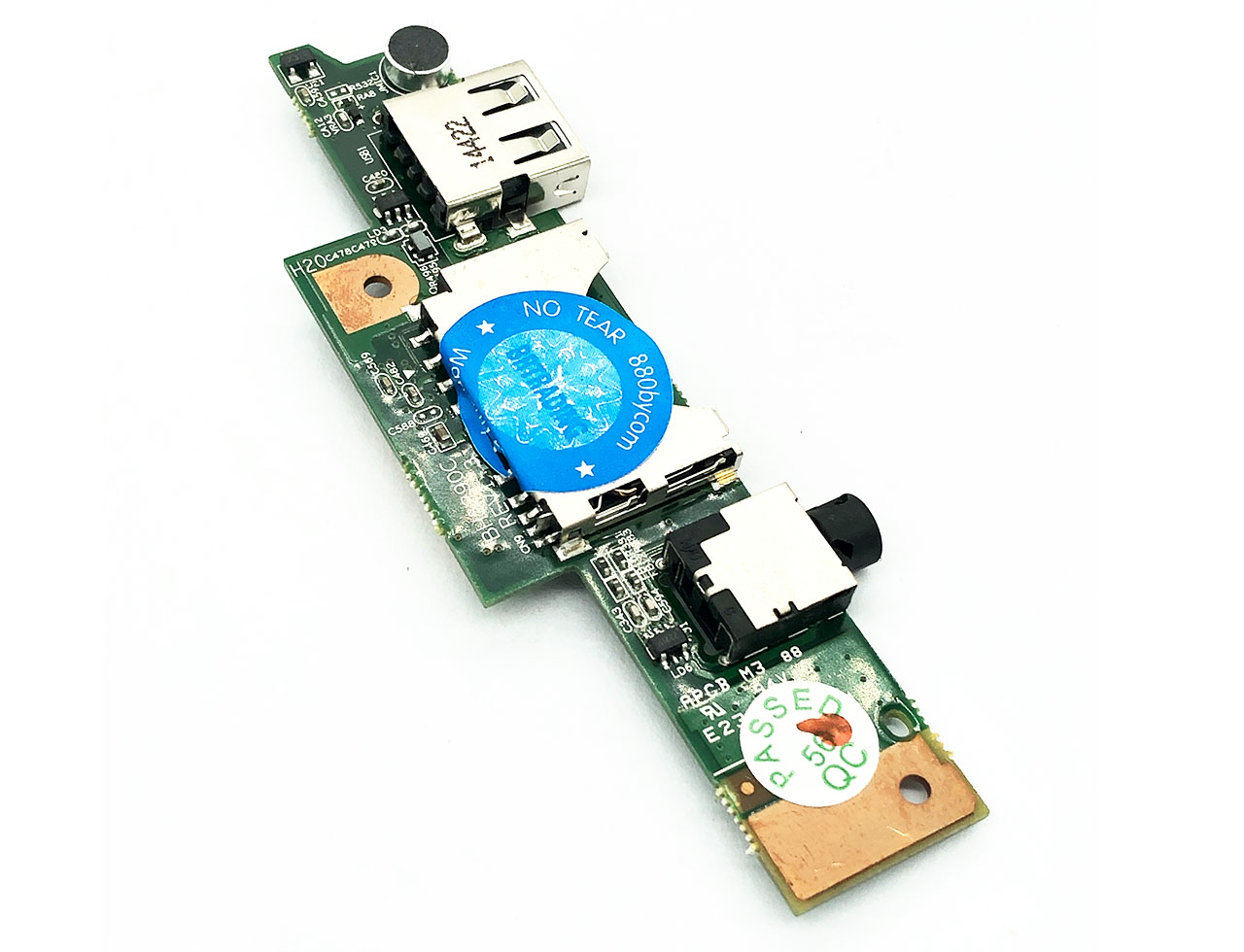 联想Lenovo IdeaPad S210 麦克风 耳机插孔 USB SD读卡器小板Touch Audio Jack USB Port Board BH5290C REV1.3