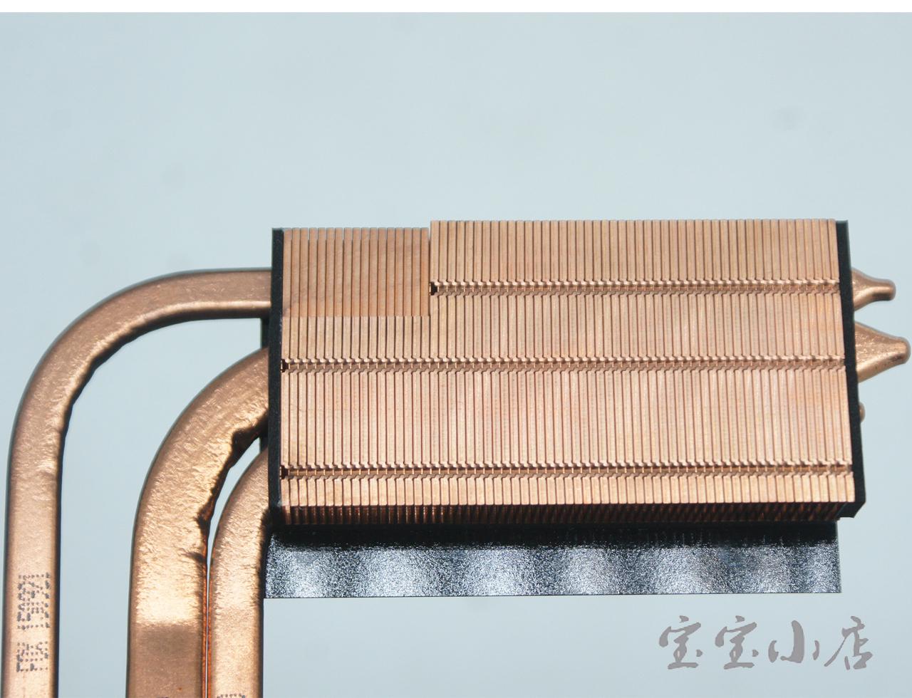 全新蓝天Clevo P870 P870DM-G  VGA GPU 散热器模组 铜管6-31-P870N-302