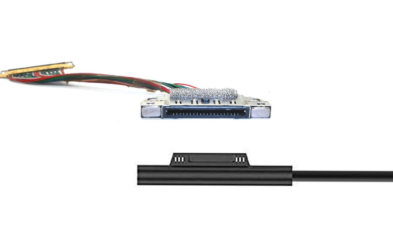 微软Microsoft Surface Laptop 3 电源接口拆解更换教程 无法开机 没反应 黑屏 无法唤醒 死机如何解决 Charge Port Dock Connector M1089863-004 Replacement