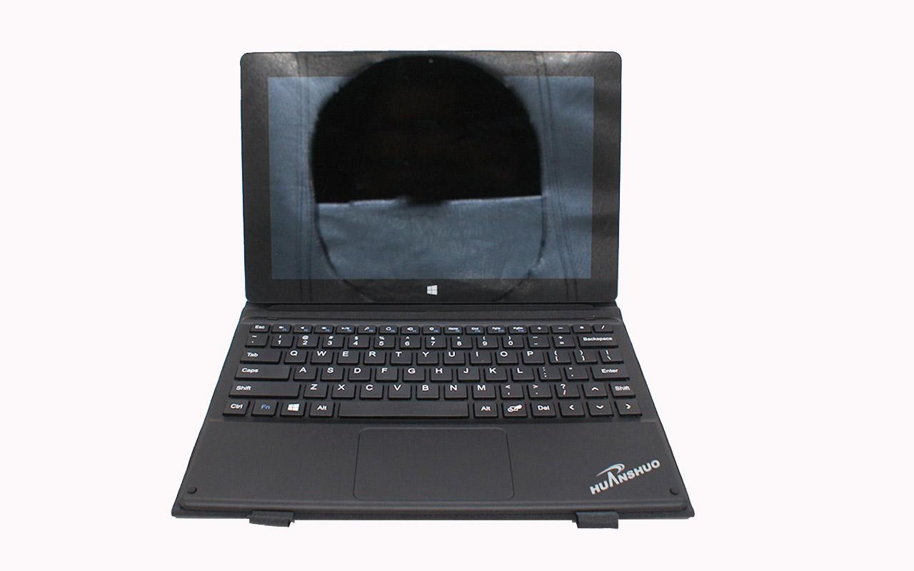 全新定制 DELL LATITUDE 10 中柏3S 4S PRO 平板电脑10.1寸磁吸键盘皮套保护套适应于神舟HASEE PCPAD X5 Ployer 普耐尔MOMO10W松崎  台电