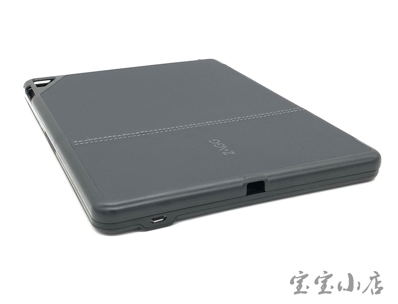 罗技ZAGG folio蓝牙无线键盘 QTG-ZKIS Apple Air 2 保护套