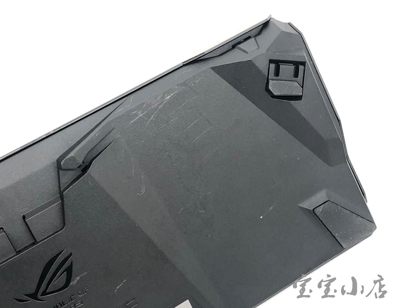 新到货Asus/华硕ROG Claymore Core玩家国度机械游戏分离式RGB电竞机械键盘