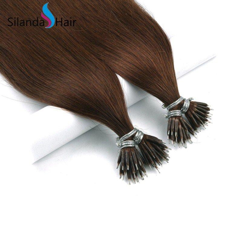 Silanda #33 Nano Bead Hair Extensions