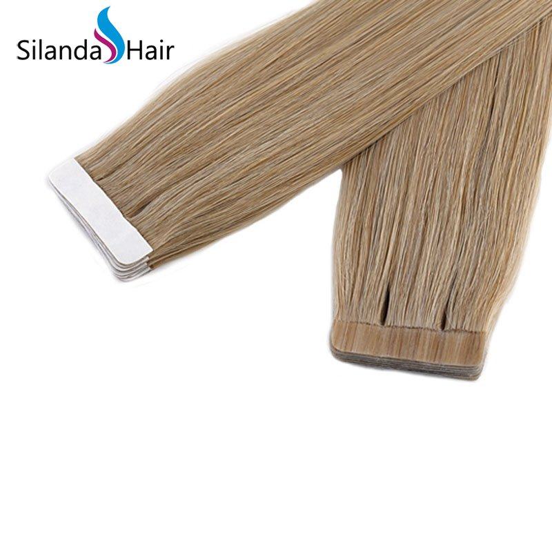 Silanda Hair #24 Luxury Remy Skin Weft