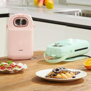爱夫号三明治机轻食机多功能华夫饼机烤面包机家用早餐机吐司压烤