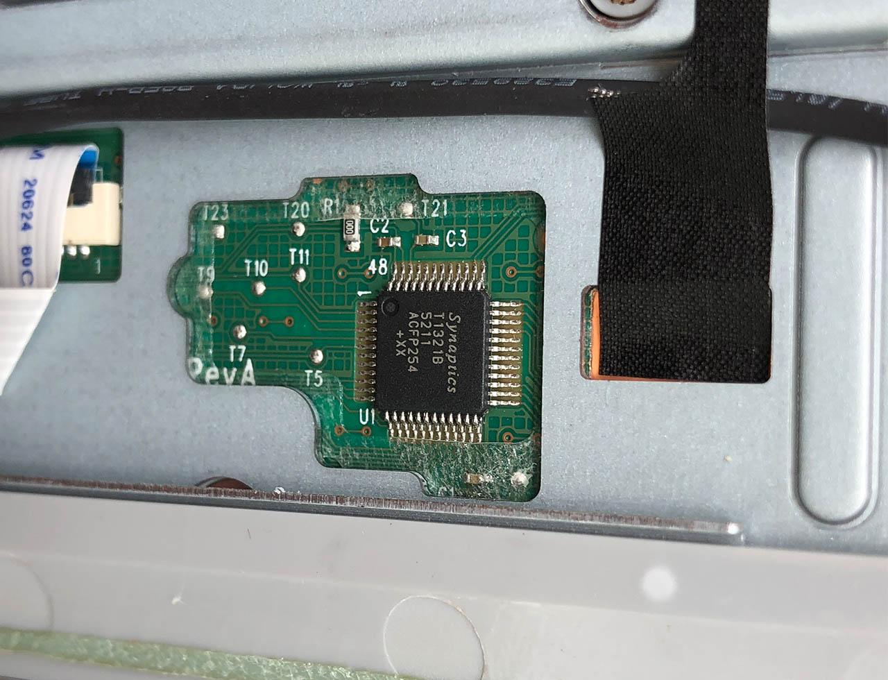 拆解教程HP ENVY Note 8 Keyboard Folio 833736无线键盘 博通蓝牙3.0 BCM20730 电源管理ESMT TMC5040