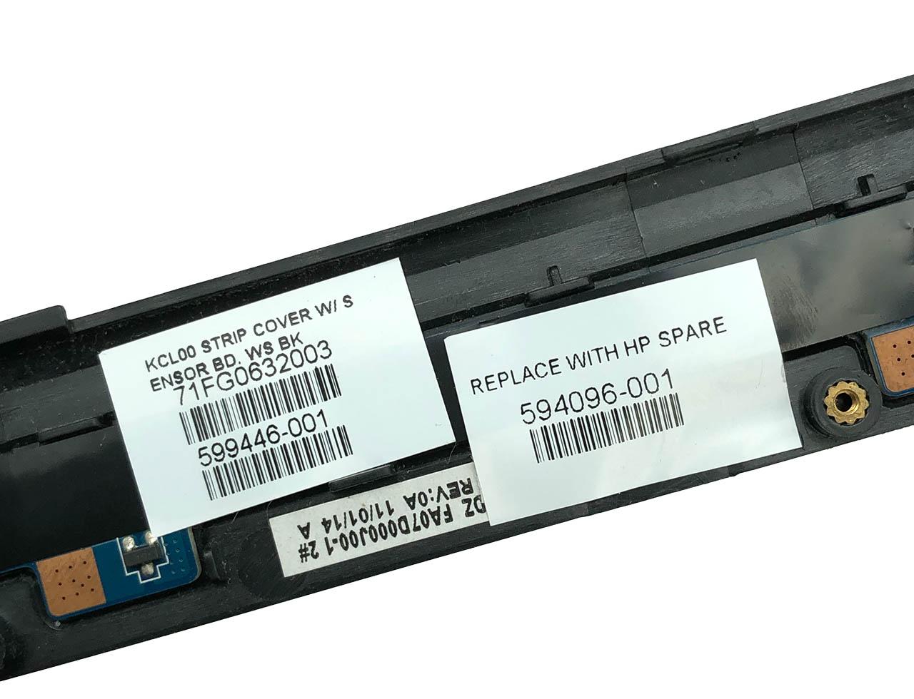 惠普HP Elitebook 8440P 开关盖板面板 音量调节指示灯板LS-4907P Switch Cover LCD Board 594095-001