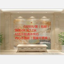 European film and television wall high temperature burning microcrystalline tile Stone Roman column line