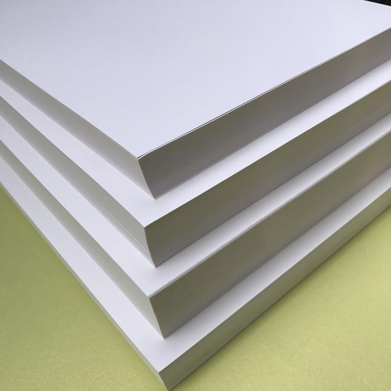 4开8开白卡纸 素描纸绘画纸图画纸4k50张 8k素描纸100张图片