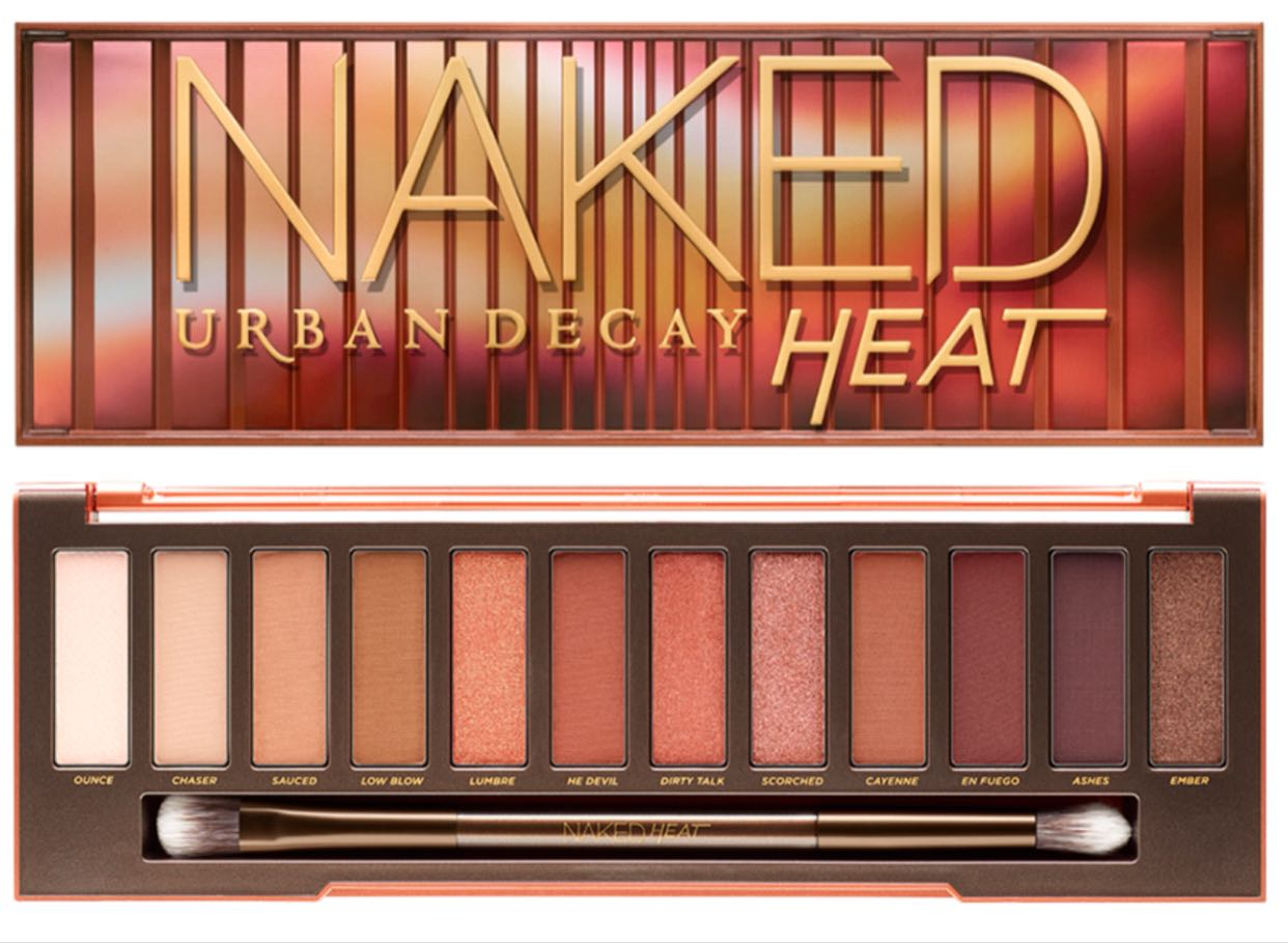 Usd 8109 Urban Decay Debacle Naked Heat 3 2 1 Generation 12 Color Eye Shadow Nude -6548