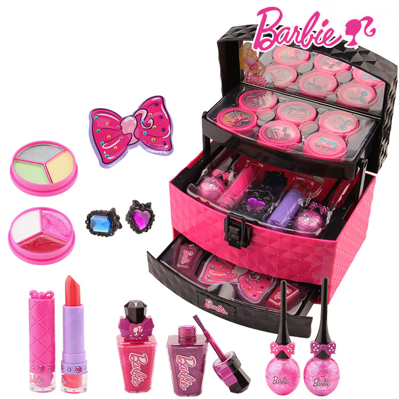 makeup kits for little girls. usd 68 90 barbie children cosmetic princess makeup box set safe kits for little girls i