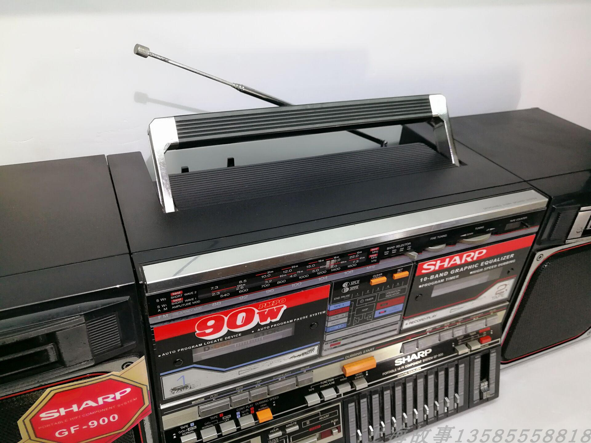 Магнитофон Япония использовала Шарп ГФ-900 магнитофоны цвет новой нормальной функции  и