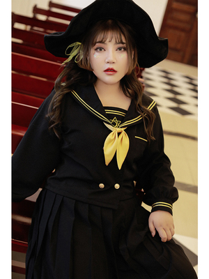 taobao agent Hard candy large size fat mm scheming suit female 2019 new western style, age-reducing, belly-covering and thinning suit
