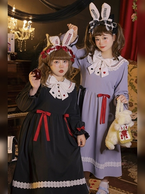 taobao agent Hard candy plus size original soft girl fat girl dress college style plus size Japanese improved jk mid-length skirt fat mm