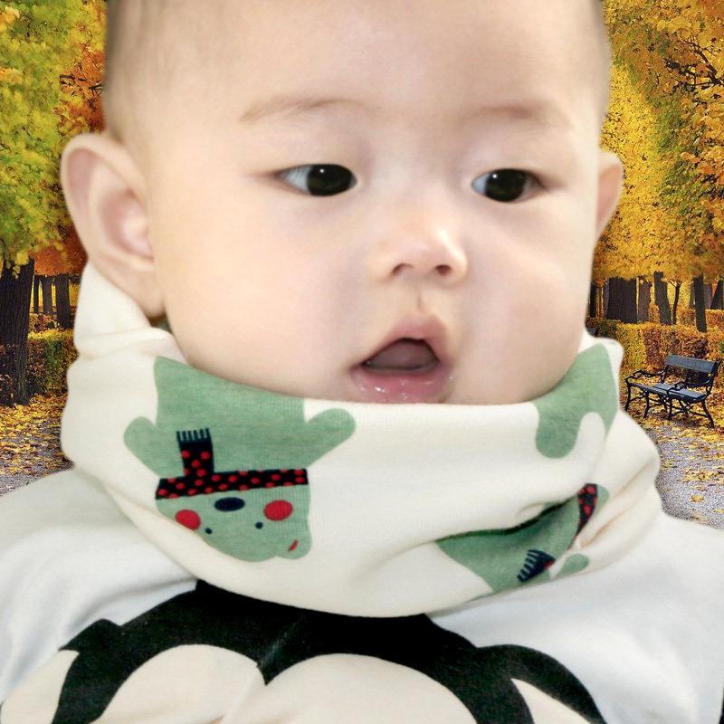儿童脖套男婴儿围脖防风秋冬季女婴幼儿保暖套头宝宝围巾春秋薄款(用5元券)