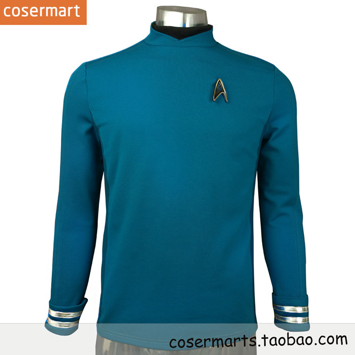 sc 1 st  eBuy7.com & StarTrek Star Trek 3 Beyond Star Spock Cosplay Costume Top