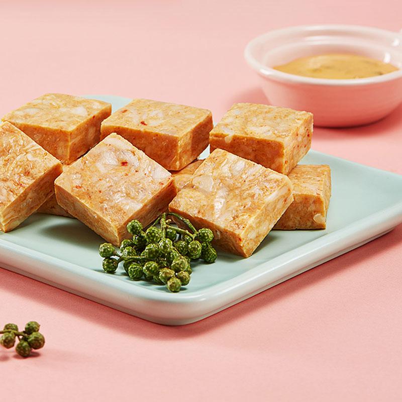 凤祥食品鸡肉小方藤椒味10袋450g代餐休闲鸡肉零食开袋即食