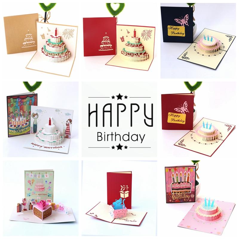 Usd 591 Handmade 3d Three Dimensional Birthday Gift Greeting Card