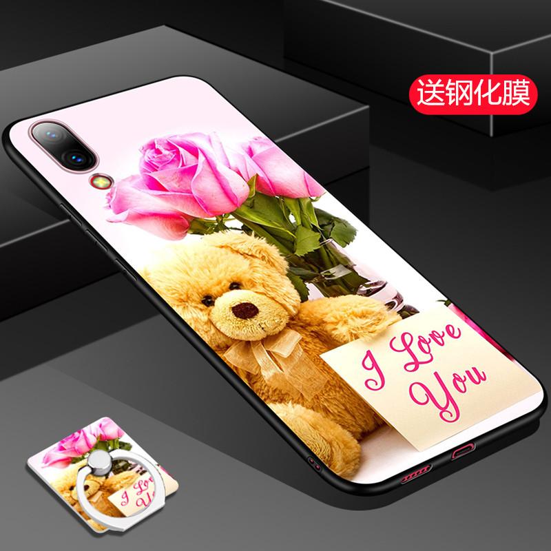 vivox23手机壳女款x23保护套时尚x23a新款硅胶防摔套潮牌网红超薄