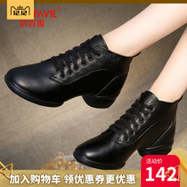 Jiao Parkway square dancing shoes dance shoes 2018 New Autumn