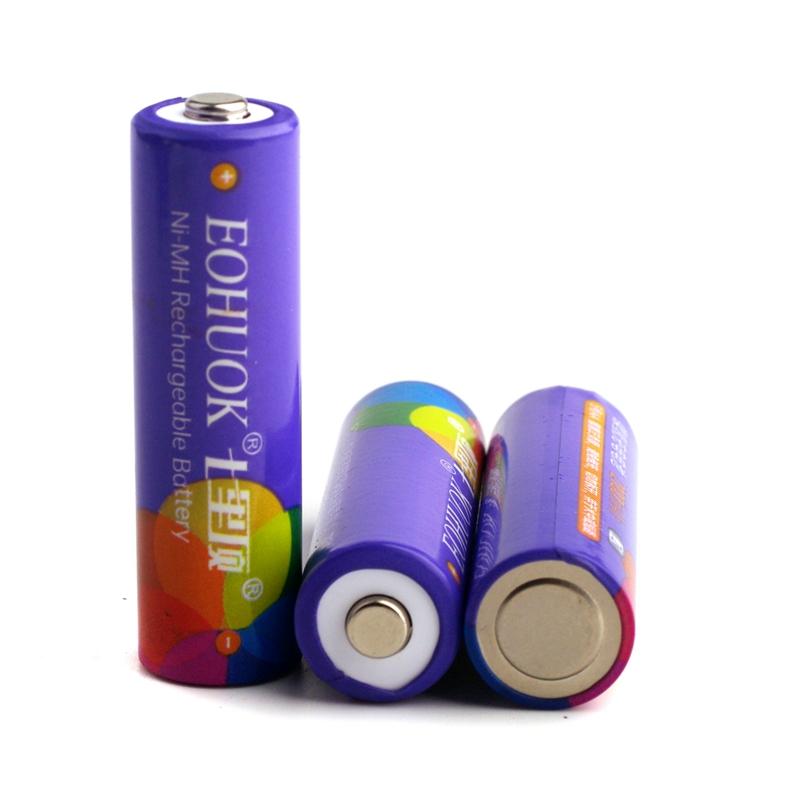 七裏顶号五号家用镍氢玩具遥控器低自放充电电池详细照片