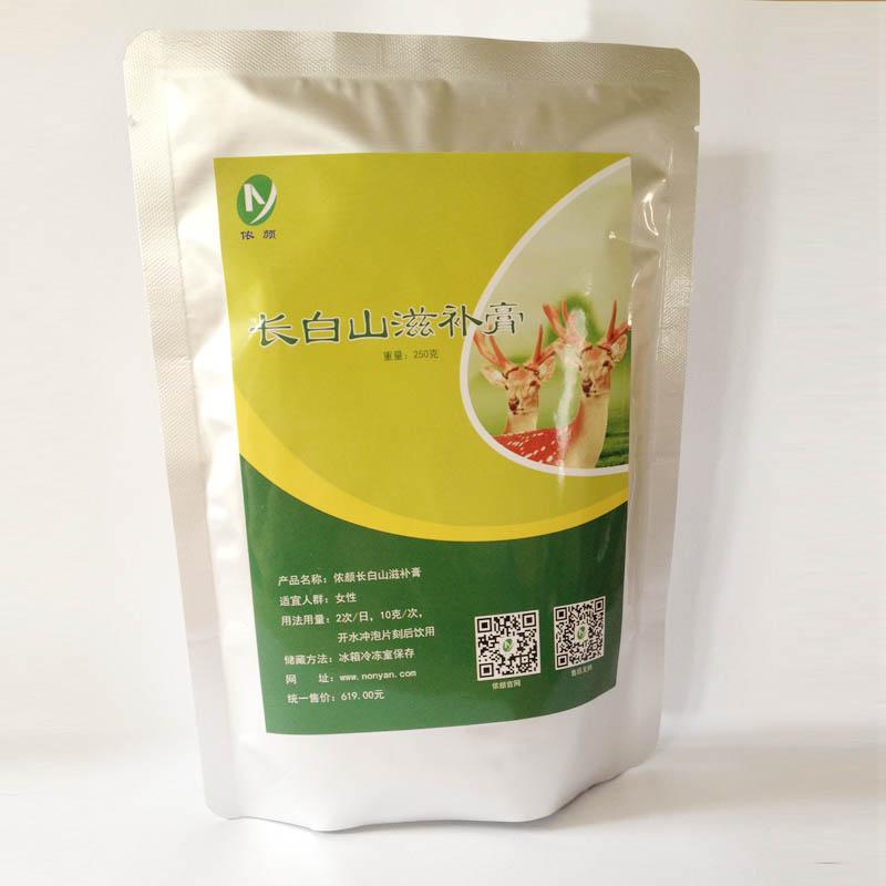 Нонг Ян Чанбай питательный крем Цзилинь олень женьшень добавьте женьшень олень кремовый торт чай не олени олени вставить плода натуральная