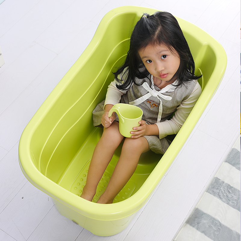 can take a bath barrel home large child warm insulation warm bath ...