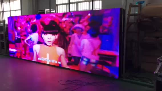 Outdoor Led Screen P5 P10 Display Panels 960*960mm Fixed Installation Billboard Iron Case