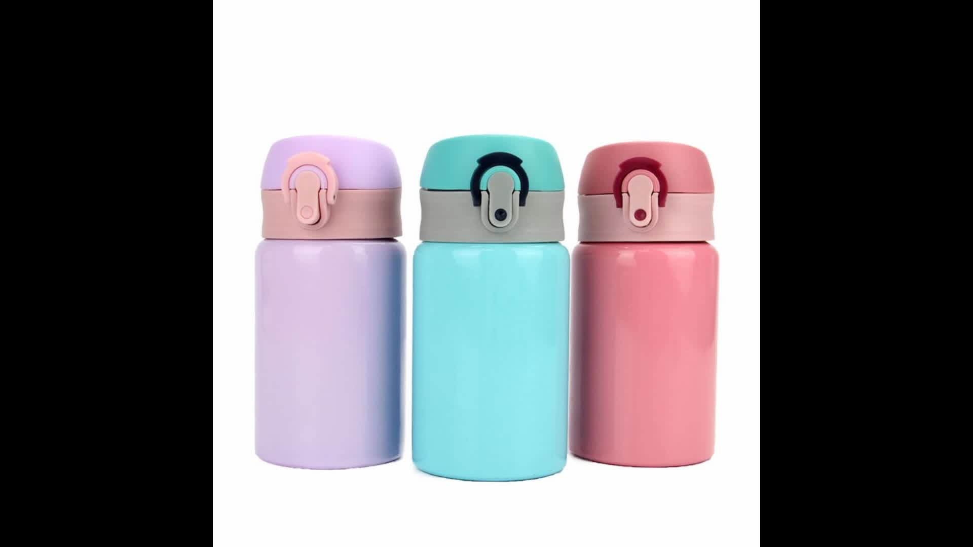 260ml Insulated Stainless Steel Sports Water Bottle