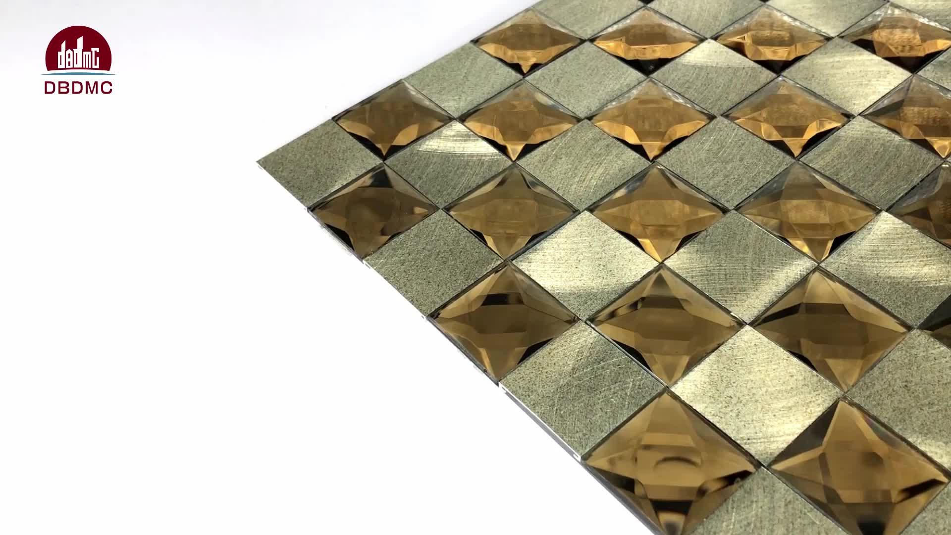 2019 Nieuwste Foshan Fabriek Curve backsplash tegels mozaïek, Curve Mozaïek, Curve Glas Mozaïek