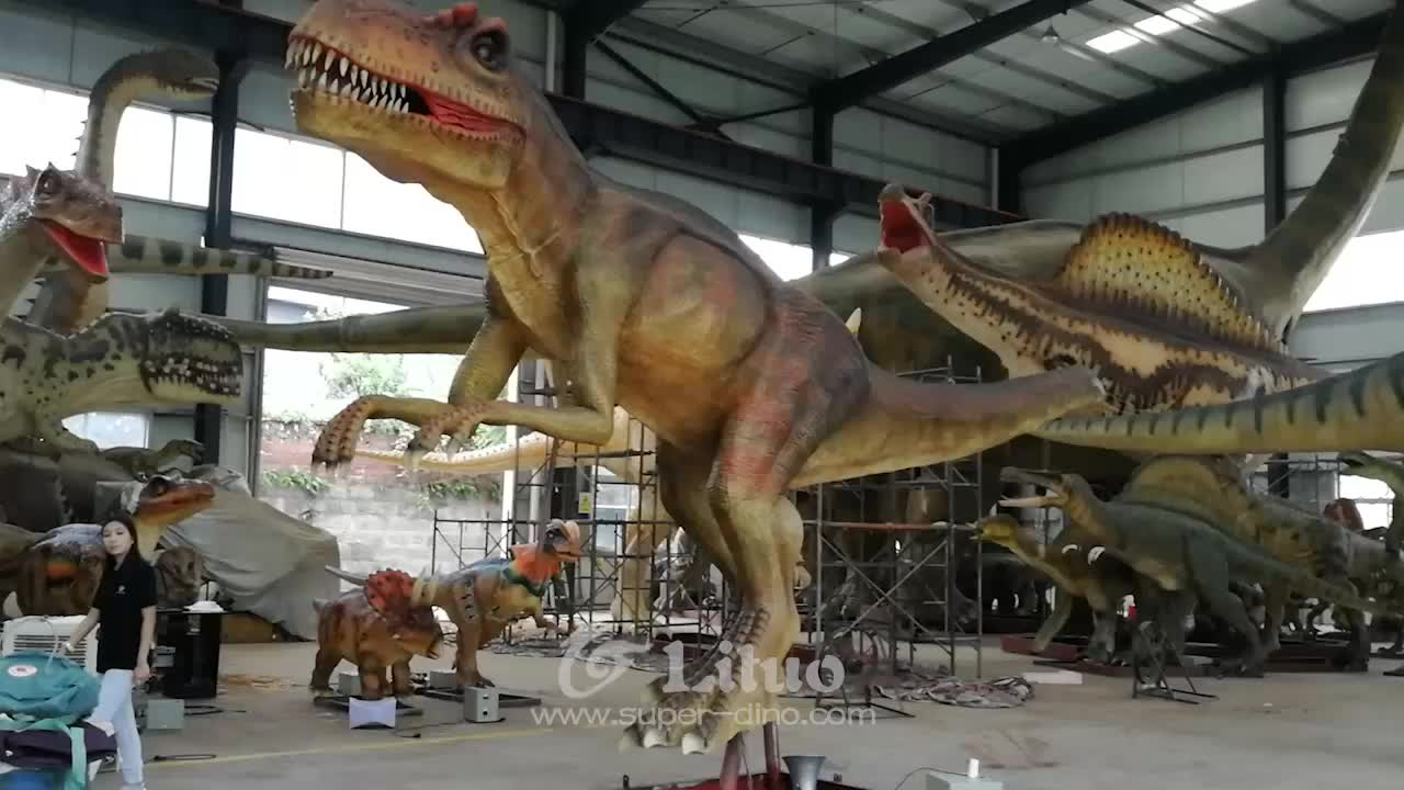 Animatronic Dinosaur Life-sized Raptor For Sale Animatronic Velociraptor For Sale