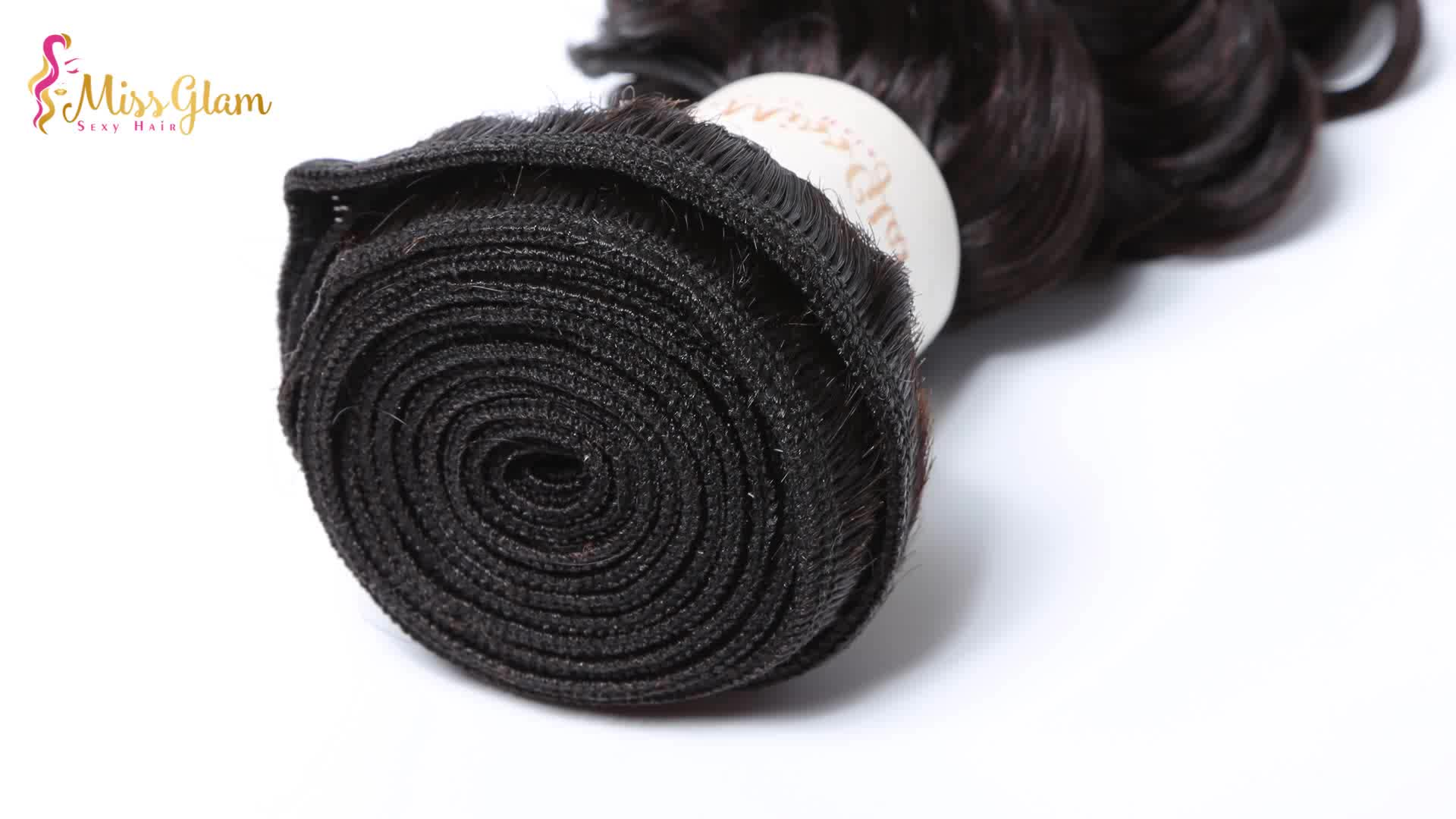 Water wave style mongolian remy human hair weave Full Cuticle Aligned 100% Unprocessed Raw Hair Bundles