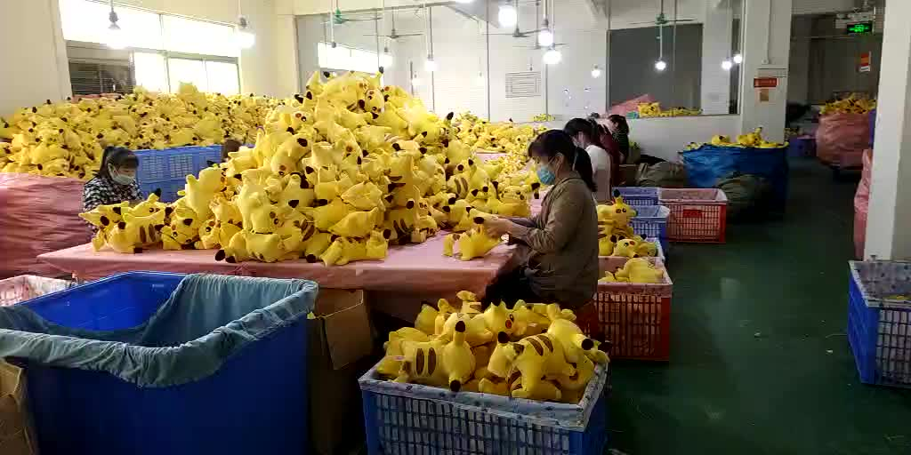stuffed wholesale factory custom mascot made to order doll costume practical OEM Plush toy mass production
