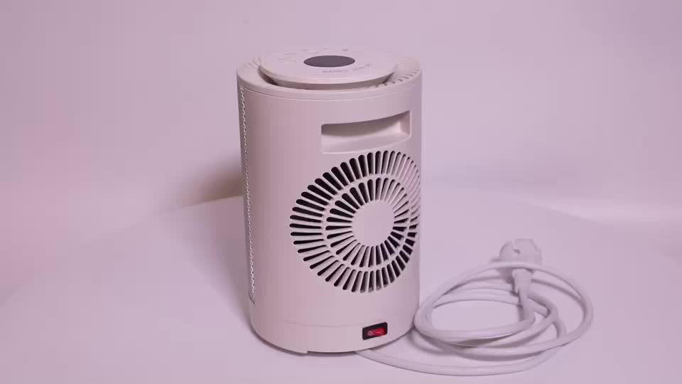 1200W Ceramic personal Space PTC heater Oscillating  with Tip-Over and Overheating Protection